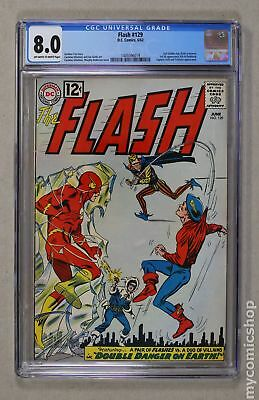 Flash (1959 1st Series DC) #129 CGC 8.0 1445596019
