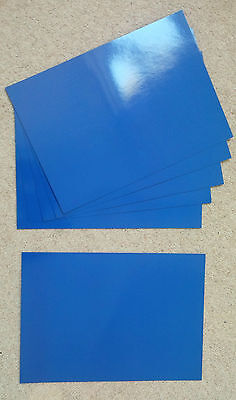Royal Blue gloss laminated card covers, A4/A5/A6, quantities of 10 to 250