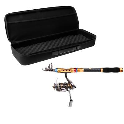 Travel Fishing Rod Combos Spinning Pole and Reel Telescopic Rod + Tackle Bag