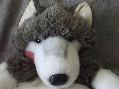"""16"""" Wolf hand puppet by Folkmanis"""