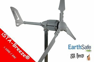 1000W / 24V WINDGENERATOR, iSTA-BREEZE®i-1000 WINDKRAFTANLAGE,ANGEBOT White