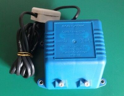 Scalextric C918 Power Supply PSU Transformer 240V - 12V  11VA - TESTED