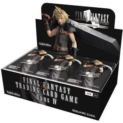 PRESALE - 12/1 Final Fantasy Trading Card Game OPUS 4 IV Booster Box New-Sealed