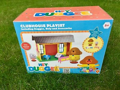 *Christmas Gift* Hey Duggee Squirrel Clubhouse Playset with Roly Cbeebies Toy