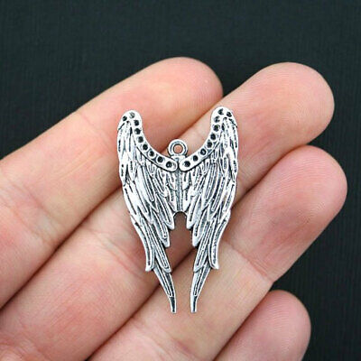 Large Wings Charms Antique Copper Tone BC990