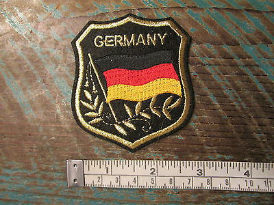 German Flag Shield Patch Bmw Vw Audi Porsche Mercedes Benz Amg 911 356 Racing Gt