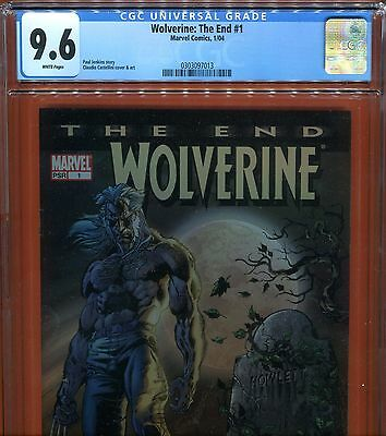 Wolverine the End #1 CGC 9.6 - Paul Jenkins story Castellini cover & art - 2004