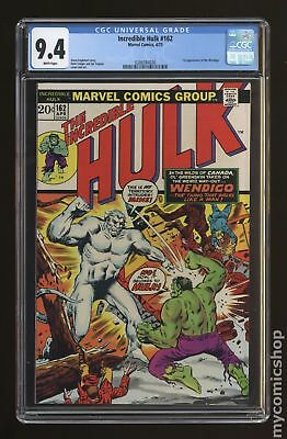 Incredible Hulk (1962-1999 1st Series) #162 CGC 9.4 0288384036