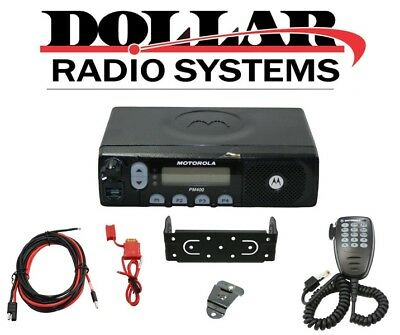 Motorola PM400 UHF 438-470Mhz 64Ch LTR Trunking Police EMS Racing Mobile Radio