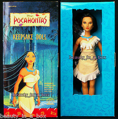 Pocahontas Keepsake Doll from Applause 15 Inch / 38 cm. Disney GORGEOUS FACE
