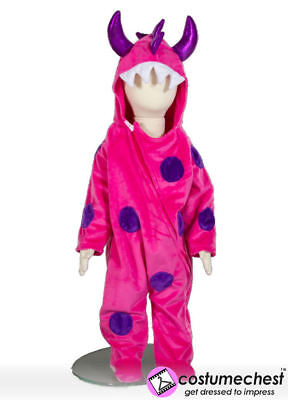 12-18 months Pink Little Monster Costume by Pretend To Bee