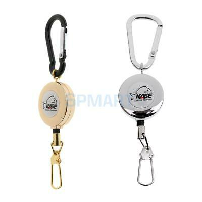 Pin Carabiner Retractor Zinger Gear Keeper Stopper Fishing Travel Cycling