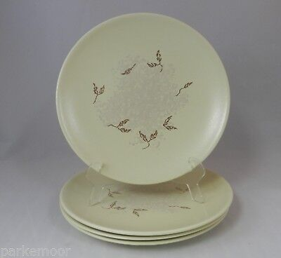 PV02012 Mid-Century Russel Wright Knowles China SEEDS- LOT OF 4 Salad Plates