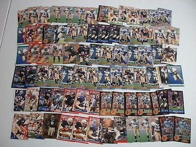 Lot Of 105 Notre Dame Fighting Irish Football Players Cards