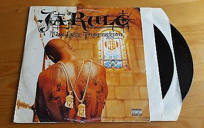 Ja Rule - The Last Temptation Double LP Vinyl Album Original 2002