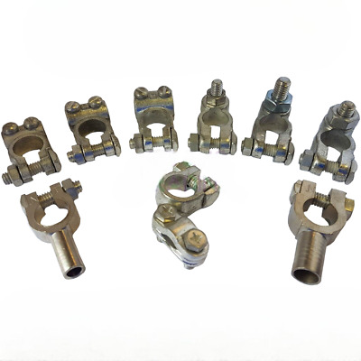 Heavy Duty Battery Terminals Clamp Post Car Auto Van Commercial