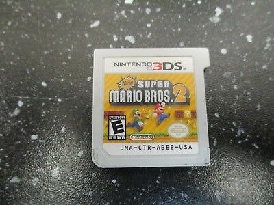New Super Mario Bros. 2 (Nintendo 3DS, 2012) GAME ONLY / FREE SHIPPING (nl)