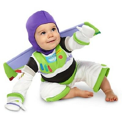 Buzz Lightyear Baby Costume NWT Genuine Disney Store Toy Story size 6-12 months