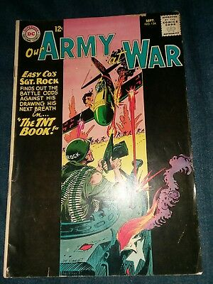 OUR ARMY AT WAR #134 VG DC COMICS SILVER AGE SGT. ROCK! Lot run movie collection