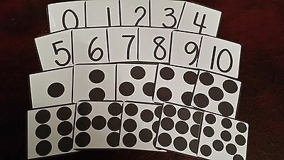 Numbers & Counting - Montessori - Number  Association & Recognition - Sen Eyfs