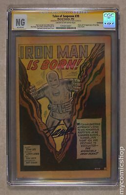 Tales of Suspense (1959) 39 CGC NG Coverless SS 1316510001