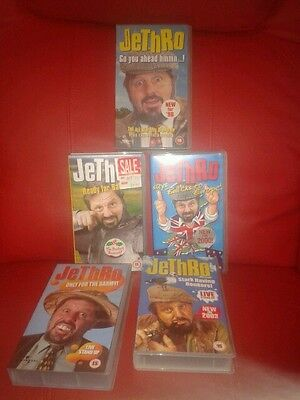 5 JETHRO VHS videos from 1988 to 2003