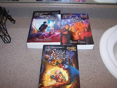 BRYAN DAVIS - ORACLES OF FIRE - 3 softcovers