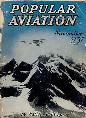 103 old issues POPULAR AVIATION MAGAZINE 1920s 30s FLYING history AIRPLANE DVD 1