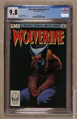 Wolverine (1982 Limited Series) #3 CGC 9.8 1497112020