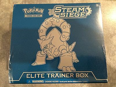Steam Siege Elite Trainer Box Pokemon RETRO Collection Rare
