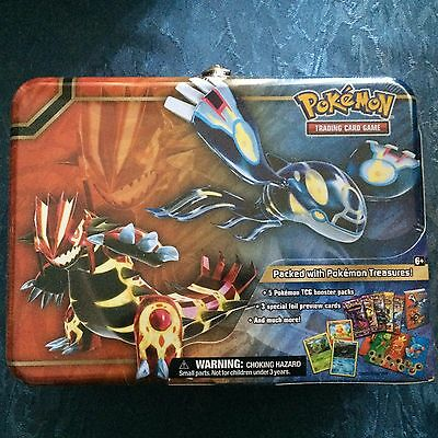 2014 Pokemon XY Collector's Chest Tin TCG Cards Rare Collectors Item! (Aus)