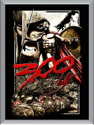 300 Movie A1 To A4 Size Poster Prints