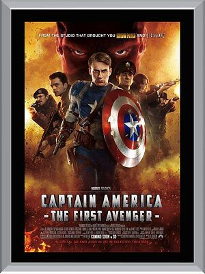 Captain America The First Avenger A1 To A4 Size Poster Prints