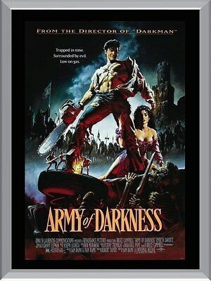 Army Of Darkness Movie A1 To A4 Size Poster Prints