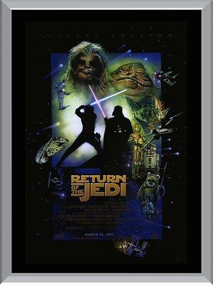 Star Wars Return Of The Jedi Special Edition A1 To A4 Size Poster Prints