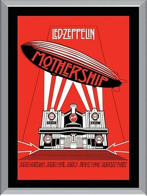 Led Zeppelin Mothership A1 To A4 Size Poster Prints
