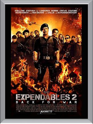 The Expendables 2 A1 To A4 Size Poster Prints