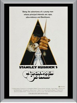Clockwork Orange Movie A1 To A4 Size Poster Prints