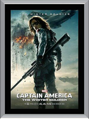 Captain America The Winter Soldier A1 To A4 Size Poster Prints