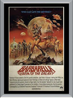 Barbarella Queen Of The Galaxy Movie A1 To A4 Size Poster Prints