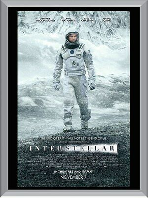 Interstellar Movie A1 To A4 Size Poster Prints