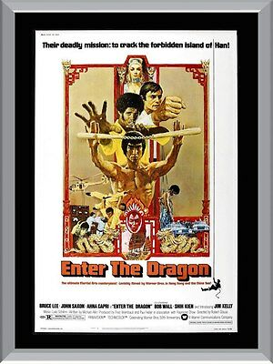 Enter The Dragon Movie A1 To A4 Size Poster Prints
