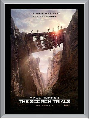 Maze Runner The Scorch Trials A1 To A4 Size Poster Prints