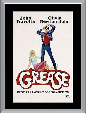 Grease Movie A1 To A4 Size Poster Prints