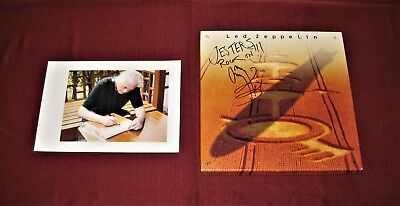 "JIMMY PAGE (Signed) ""LED ZEPPELIN"" (4-cassette) Box Set - Donated to Charity"