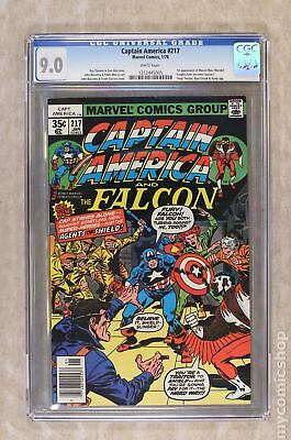 Captain America (1968 1st Series) #217 CGC 9.0 1212445005