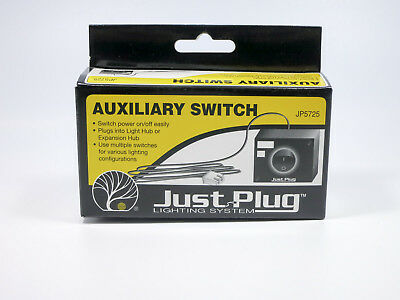 Woodland Scenics Just Plug Lighting System Auxiliary Switch - NIB - JP5725