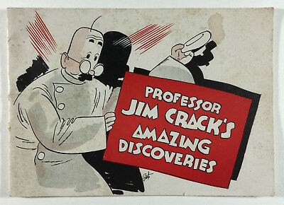 Professor Jim Crack's Amazing Discoveries The American Distilling Company 1930s