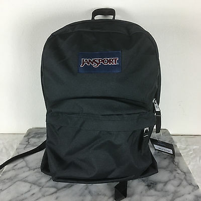 Jansport Superbreak Backpacks Black Bag 100% AUTHENTIC School backpack bags