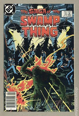 Swamp Thing (1982 2nd Series) #20 FN/VF 7.0